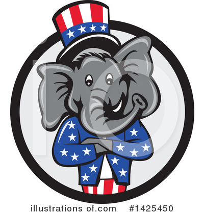 Politics Clipart #1425450 by patrimonio