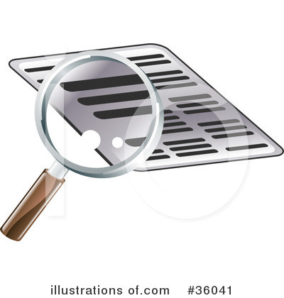 Royalty-Free (RF) Research Clipart Illustration by AtStockIllustration ...