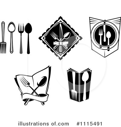 Restaurant Clipart #1115491 by Vector Tradition SM
