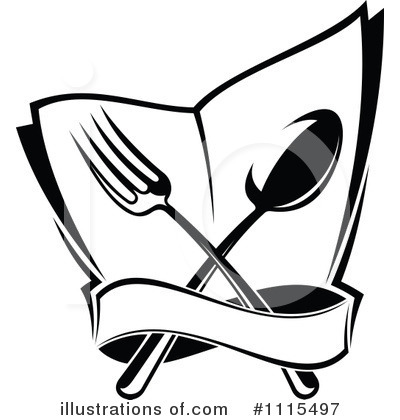 Restaurant Clipart #1115497 by Vector Tradition SM