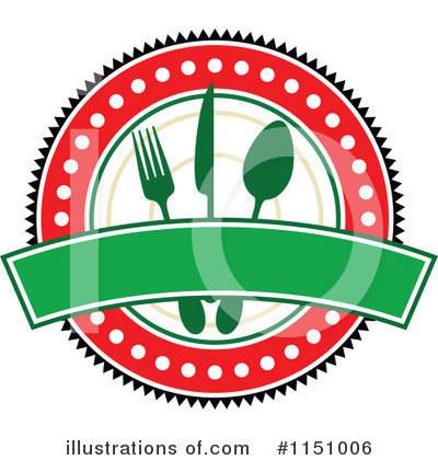 Royalty-Free (RF) Restaurant Clipart Illustration by Vector Tradition SM - Stock Sample #1151006
