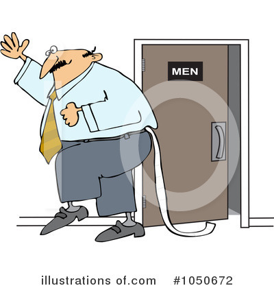 Royalty-Free (RF) Restroom Clipart Illustration by Dennis Cox - Stock Sample #1050672