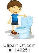 Royalty-Free (RF) Restroom Clipart Illustration #1140251