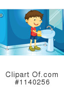 Royalty-Free (RF) Restroom Clipart Illustration #1140256