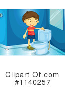 Royalty-Free (RF) Restroom Clipart Illustration #1140257