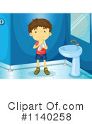 Royalty-Free (RF) Restroom Clipart Illustration #1140258