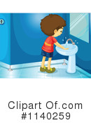 Royalty-Free (RF) Restroom Clipart Illustration #1140259