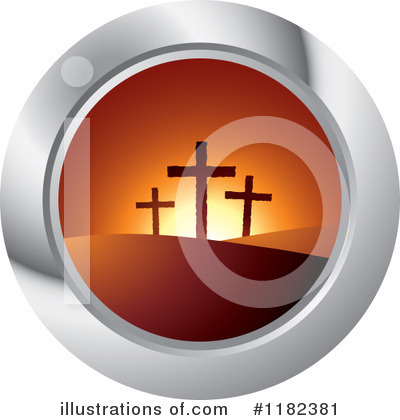 Royalty-Free (RF) Resurrection Clipart Illustration by Lal Perera - Stock Sample #1182381