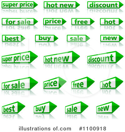 Sales Clipart #1100918 by dero