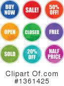 Royalty-Free (RF) Retail Clipart Illustration #1361425