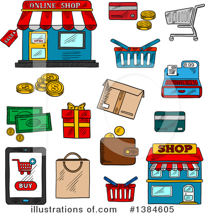 Credit Card Clipart #1384605 by Vector Tradition SM