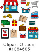 Royalty-Free (RF) Retail Clipart Illustration #1384605