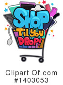 Royalty-Free (RF) Retail Clipart Illustration #1403053