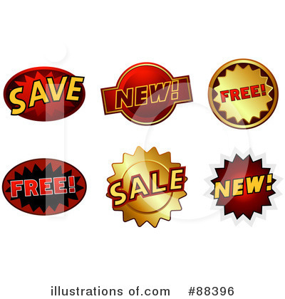 Sale Clipart #88396 by BNP Design Studio