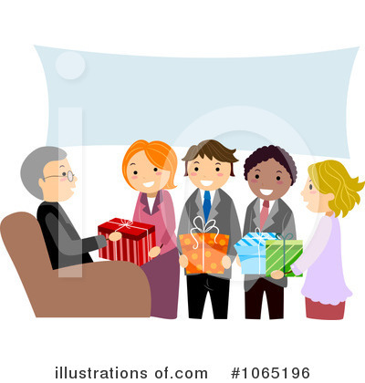 Colleagues Clipart #1065196 by BNP Design Studio