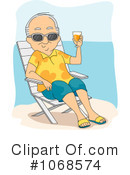 Royalty-Free (RF) retirement Clipart Illustration #1068574