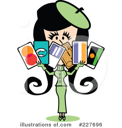Credit Card Clipart #227696 by Andy Nortnik