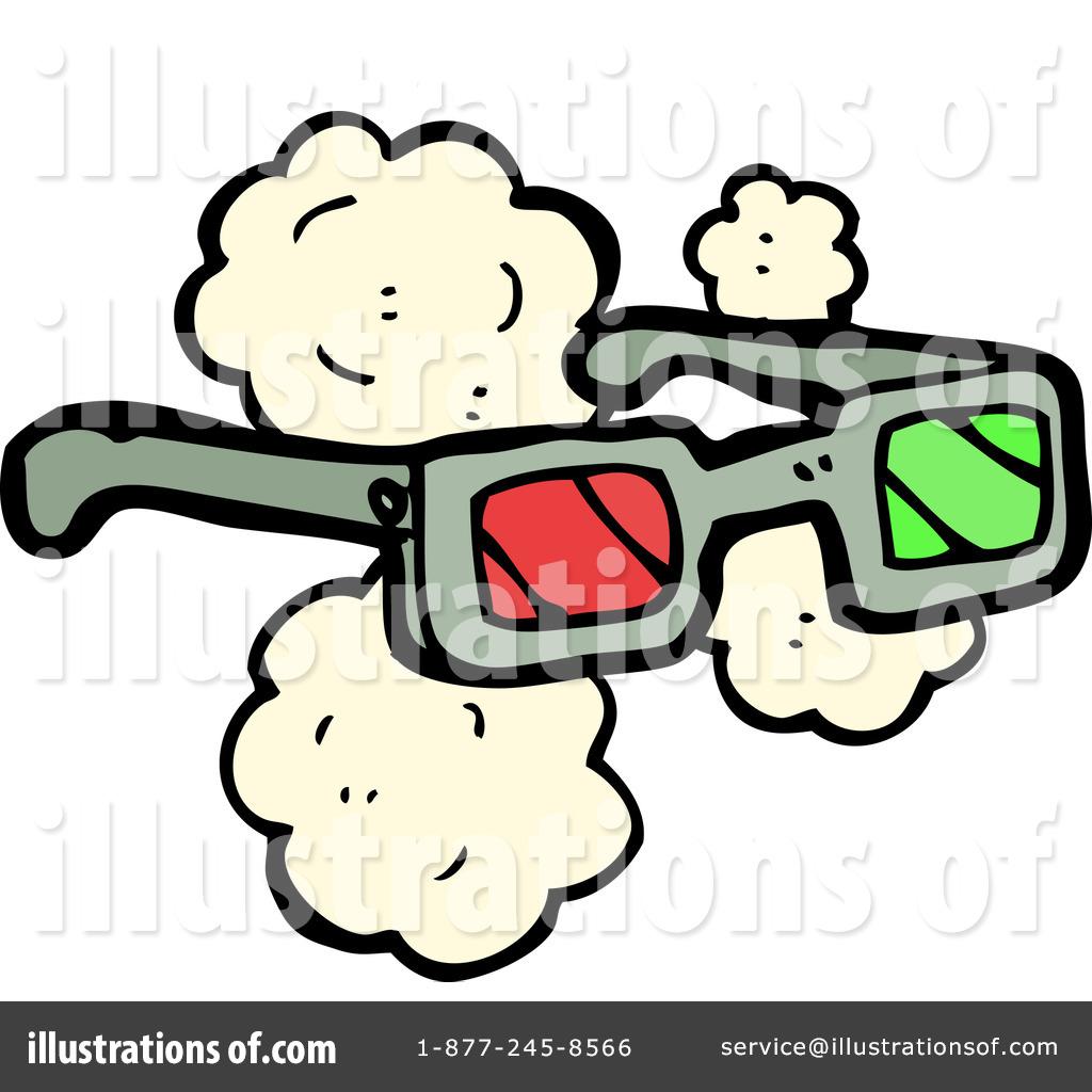 3d Glasses Clipart #1185732 - Illustration by lineartestpilot