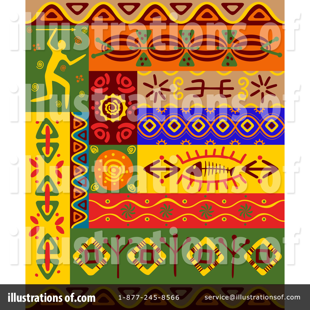 African Clipart 1068522 Illustration Vector Tradition Sm within african clip art designs for your inspiration
