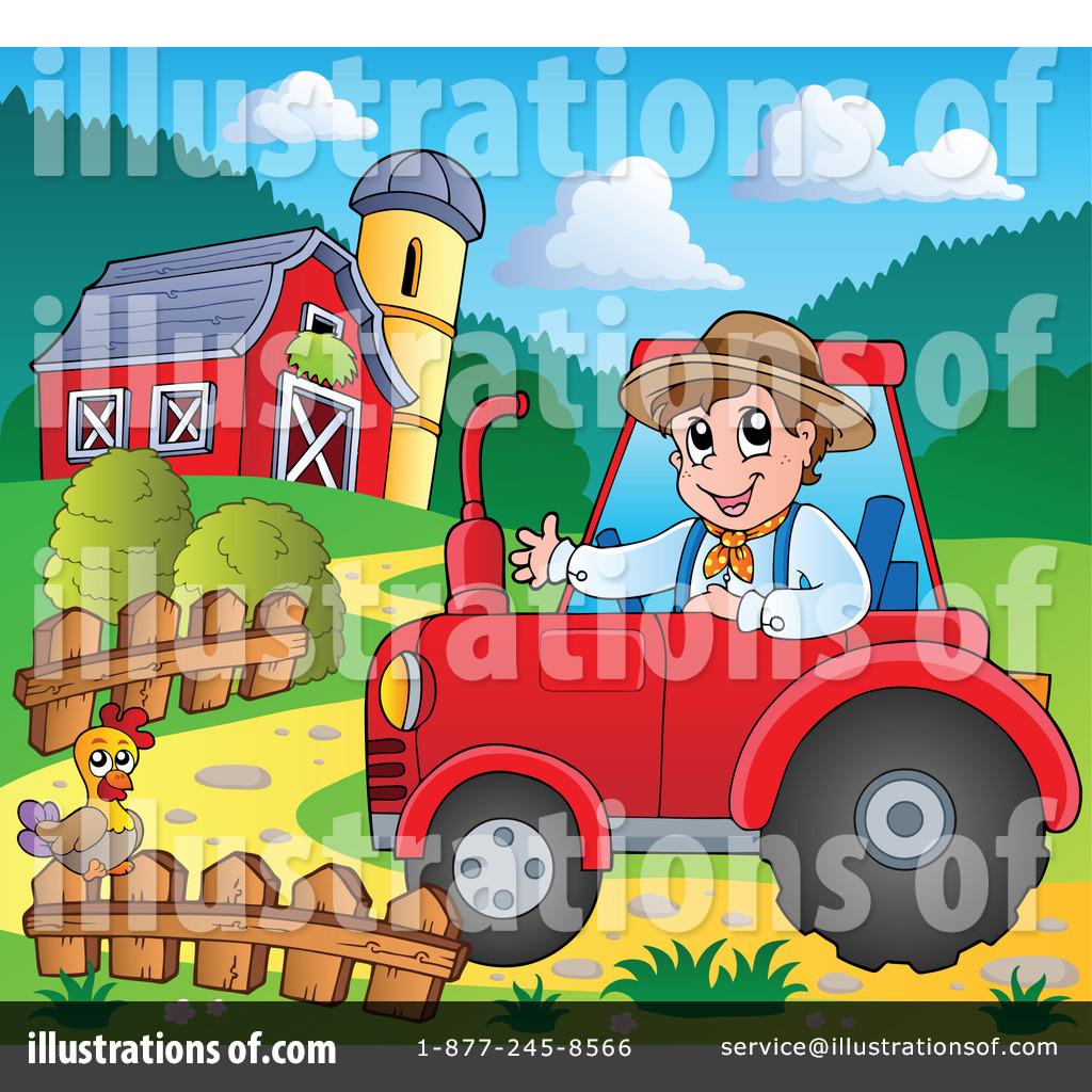 Agriculture Clipart #1100737 - Illustration by visekart