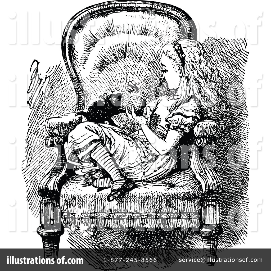 Alice In Wonderland Clipart #1166679 - Illustration by ...