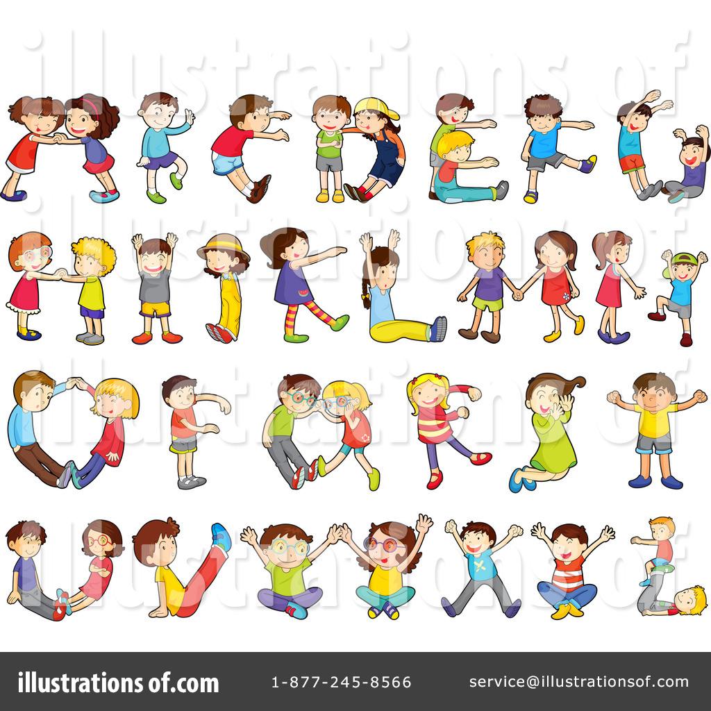 Royalty-Free (RF) Alphabet Clipart Illustration by colematt - Stock ...