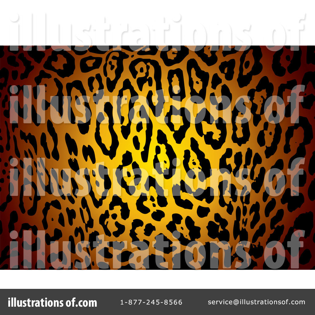 Animal Print Border Clip Art (rf) animal print clipart