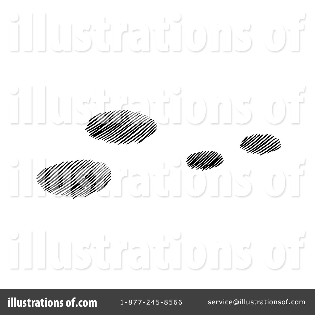Bunny Tracks Clip Art Royalty-free (rf) animal tracks clipart ...