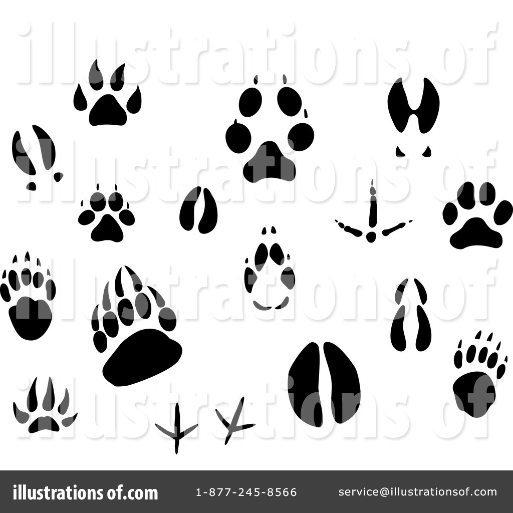 Animal Tracks Clip Art
