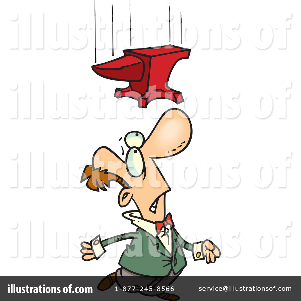 Royalty-Free (RF) Anvil Clipart Illustration by Ron Leishman - Stock ...