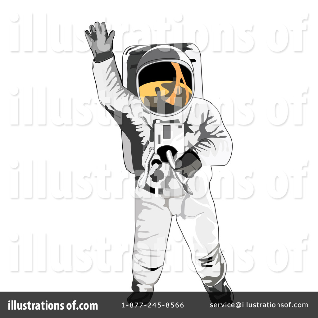 Astronaut Illustration (page 4) - Pics about space