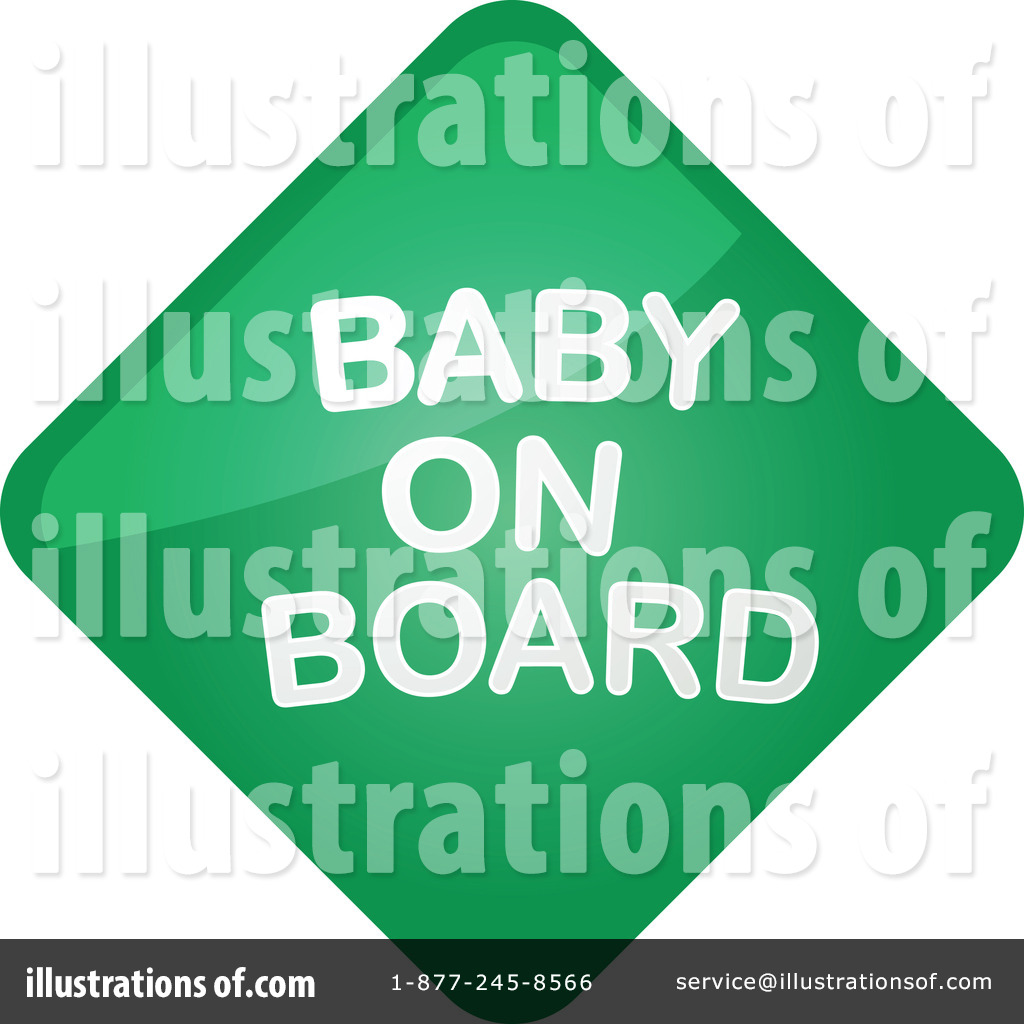 clipart baby on board-#11