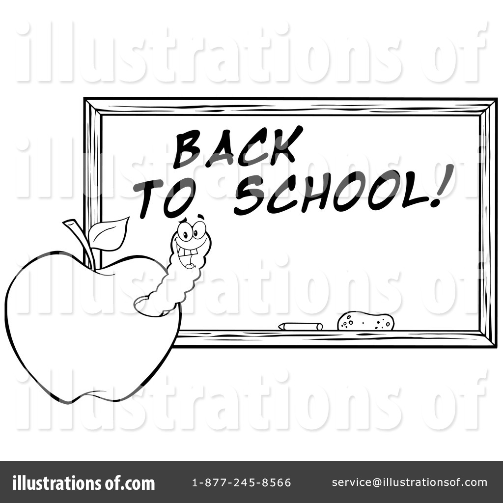 back to school clipart black and white – Clipart Download