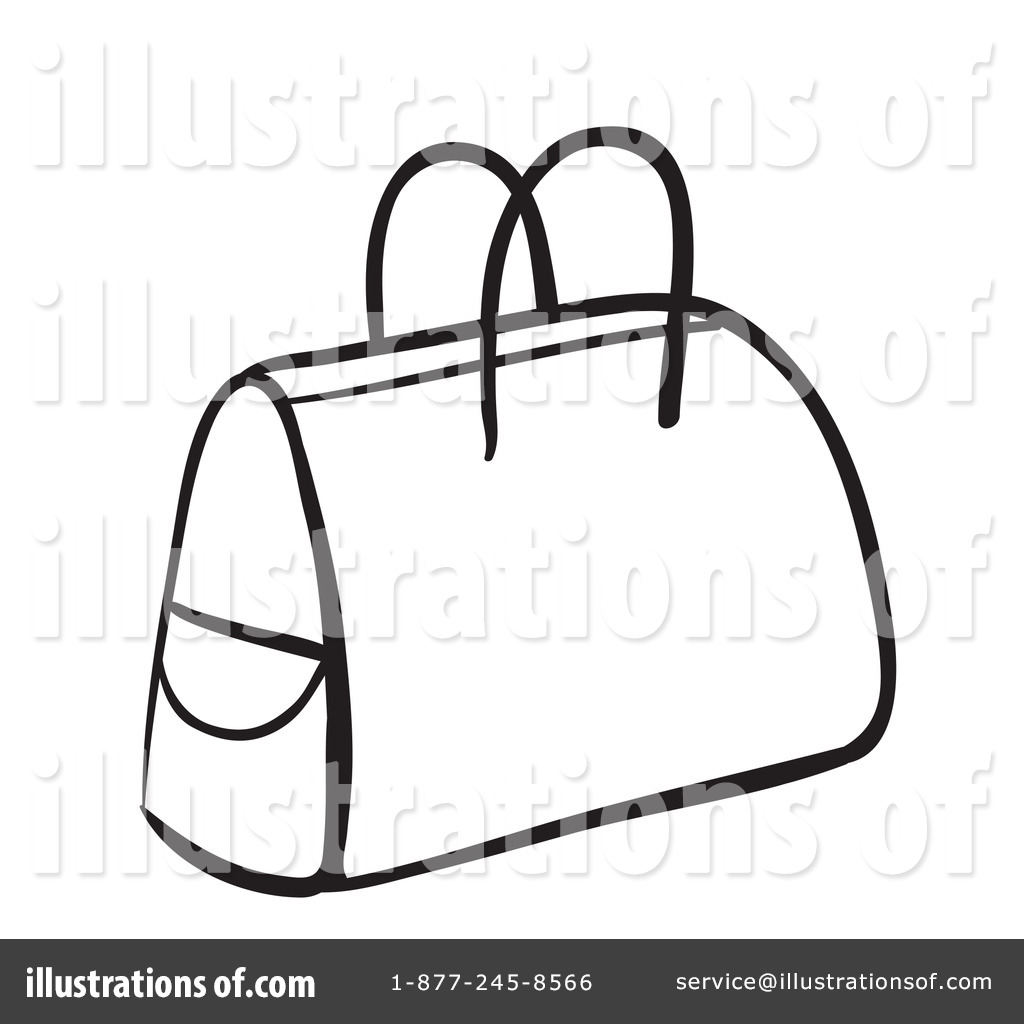 Coloring book bag - Royalty Free Rf Bag Clipart Illustration 1136994 By Graphics Rf