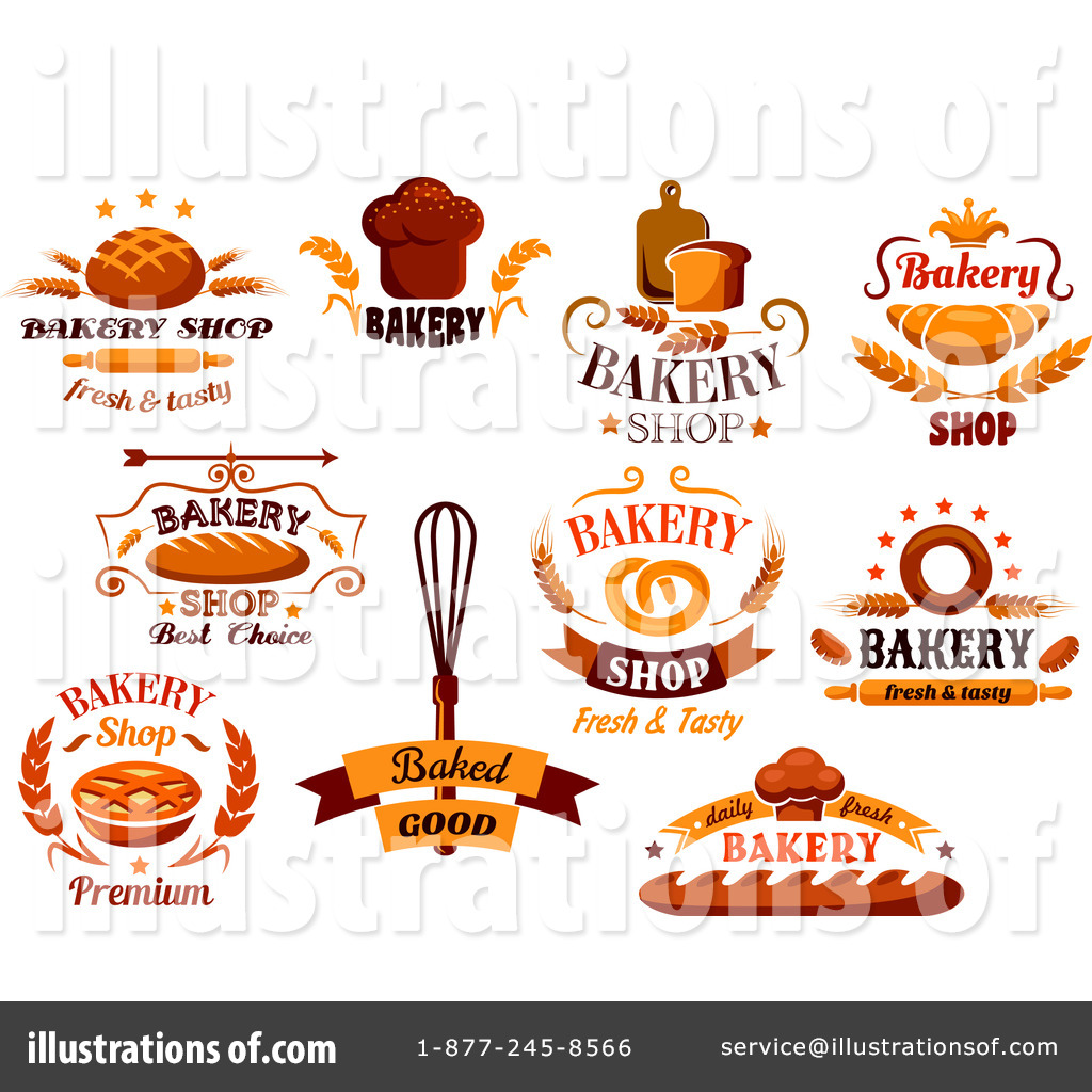 Royalty-Free (RF) Bakery Clipart Illustration by Seamartini Graphics ...