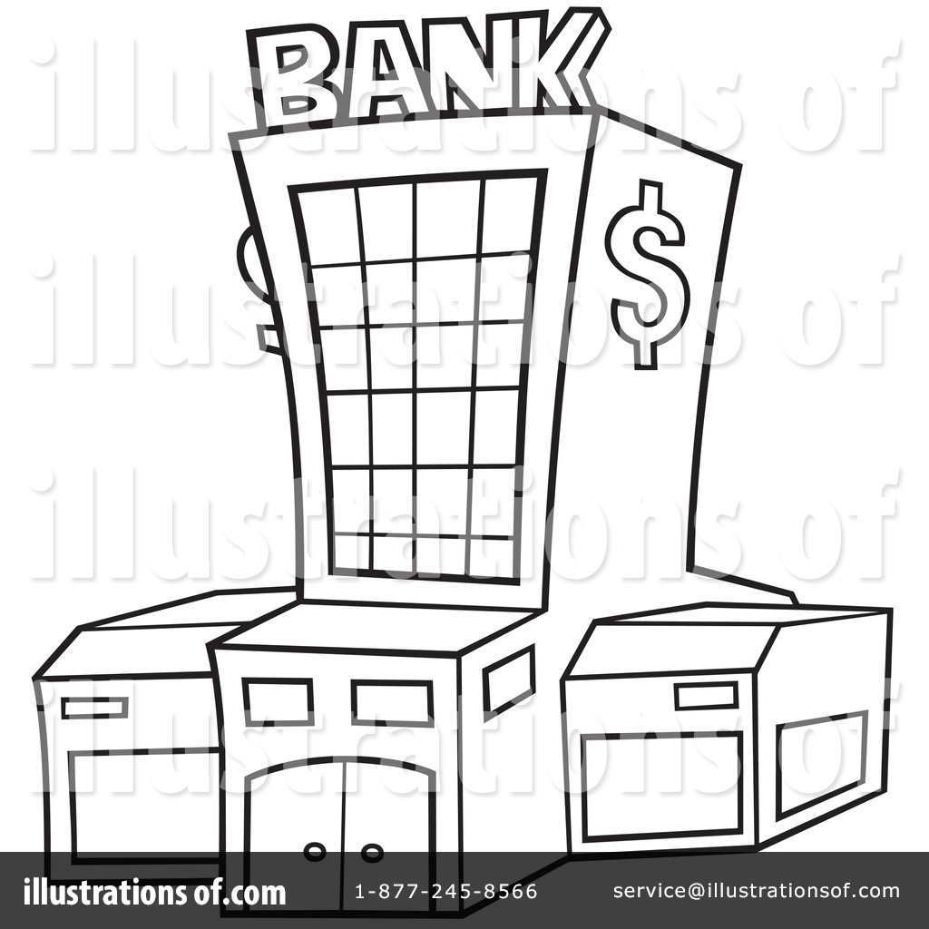 Bank Clipart 1051454 Illustration By Dero