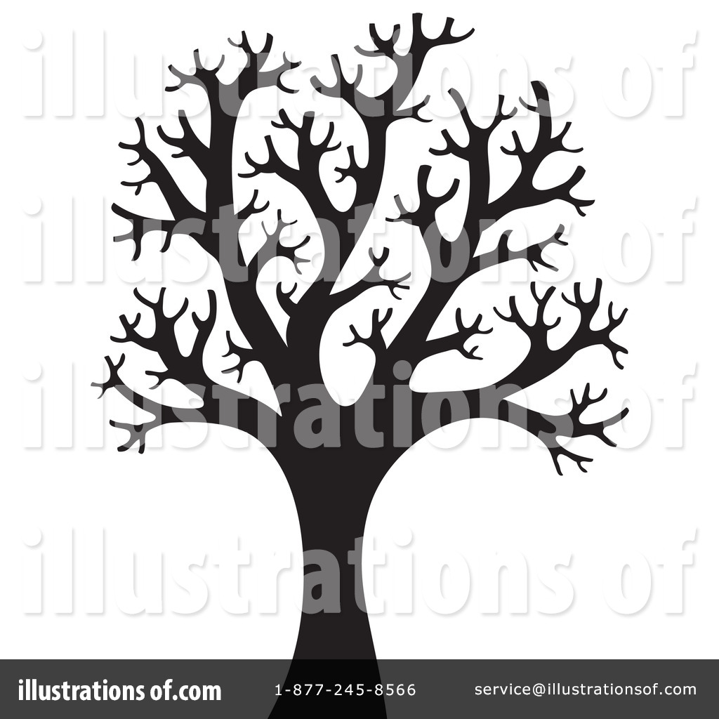 Bare Tree Silhouette Stock Illustrations 1055 Bare ... - photo#20