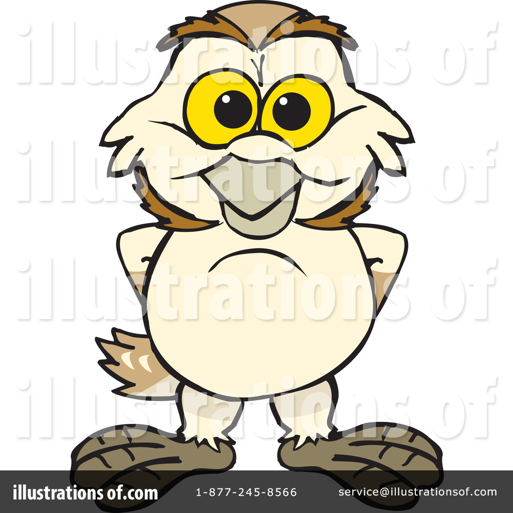 Barn Owl Clipart #1280502 - Illustration by Dennis Holmes ...