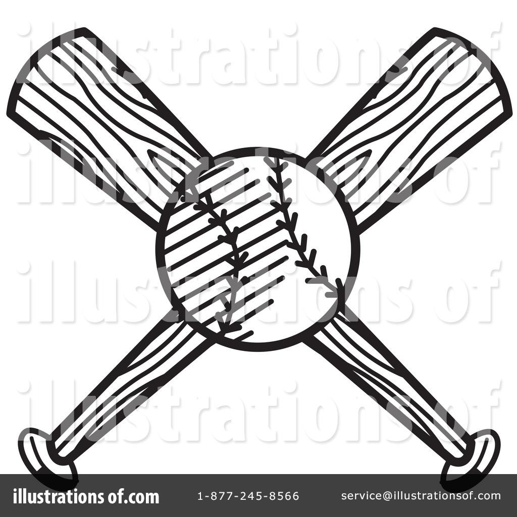 Royalty Free RF Baseball Clipart Illustration 14435 By Andy Nortnik