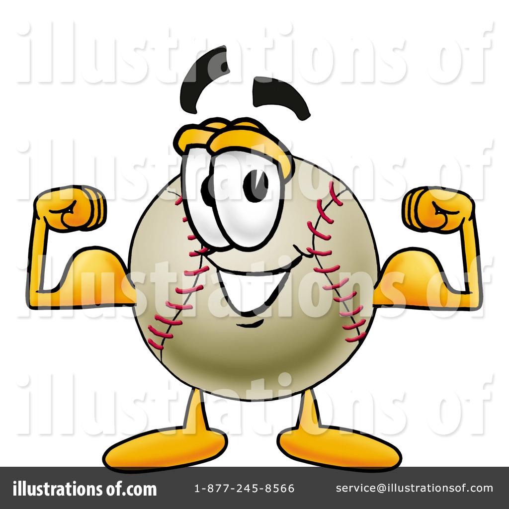 Baseball Clipart #7055 - Illustration by Toons4Biz