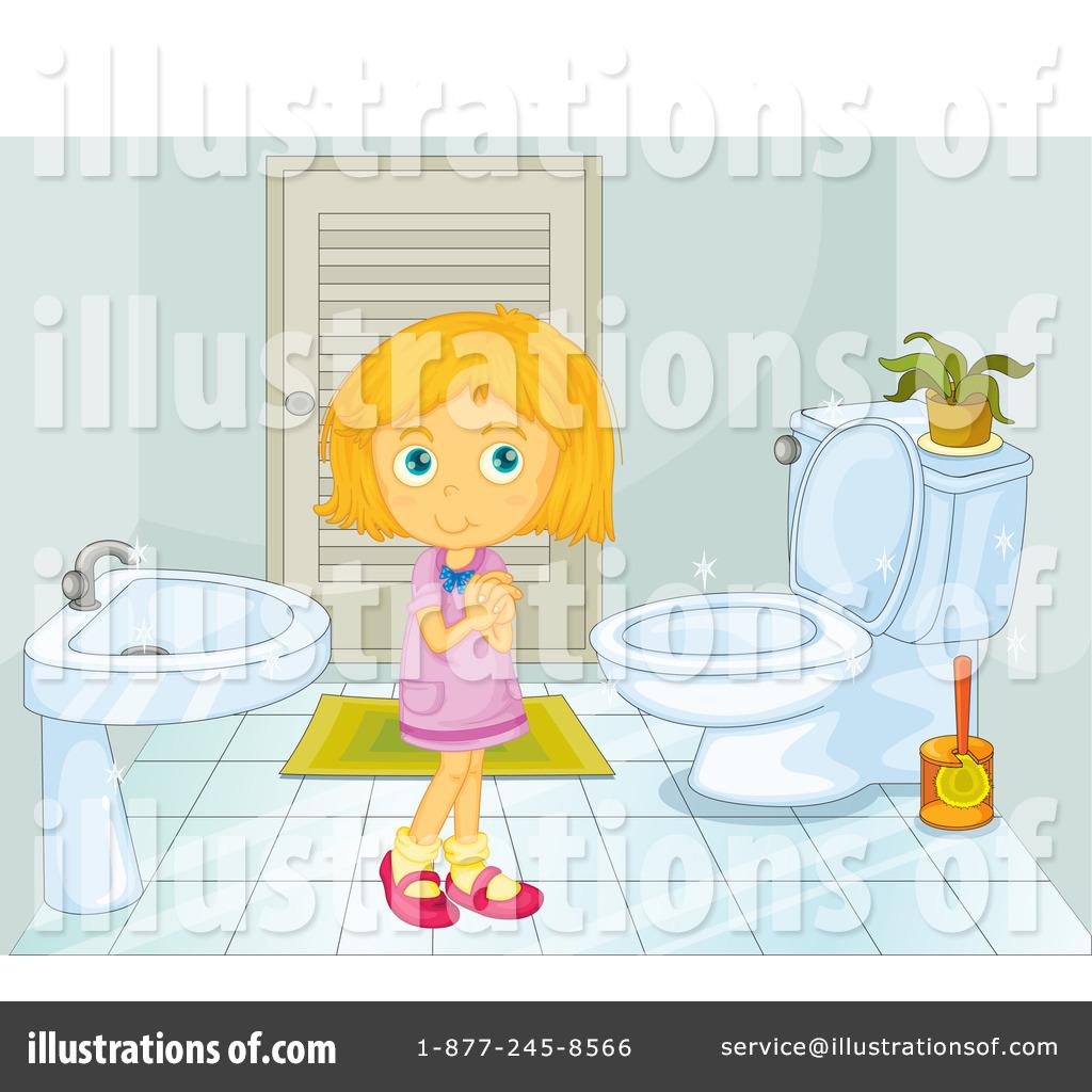 Royalty Free (RF) Bathroom Clipart Illustration #1117733 By Graphics RF