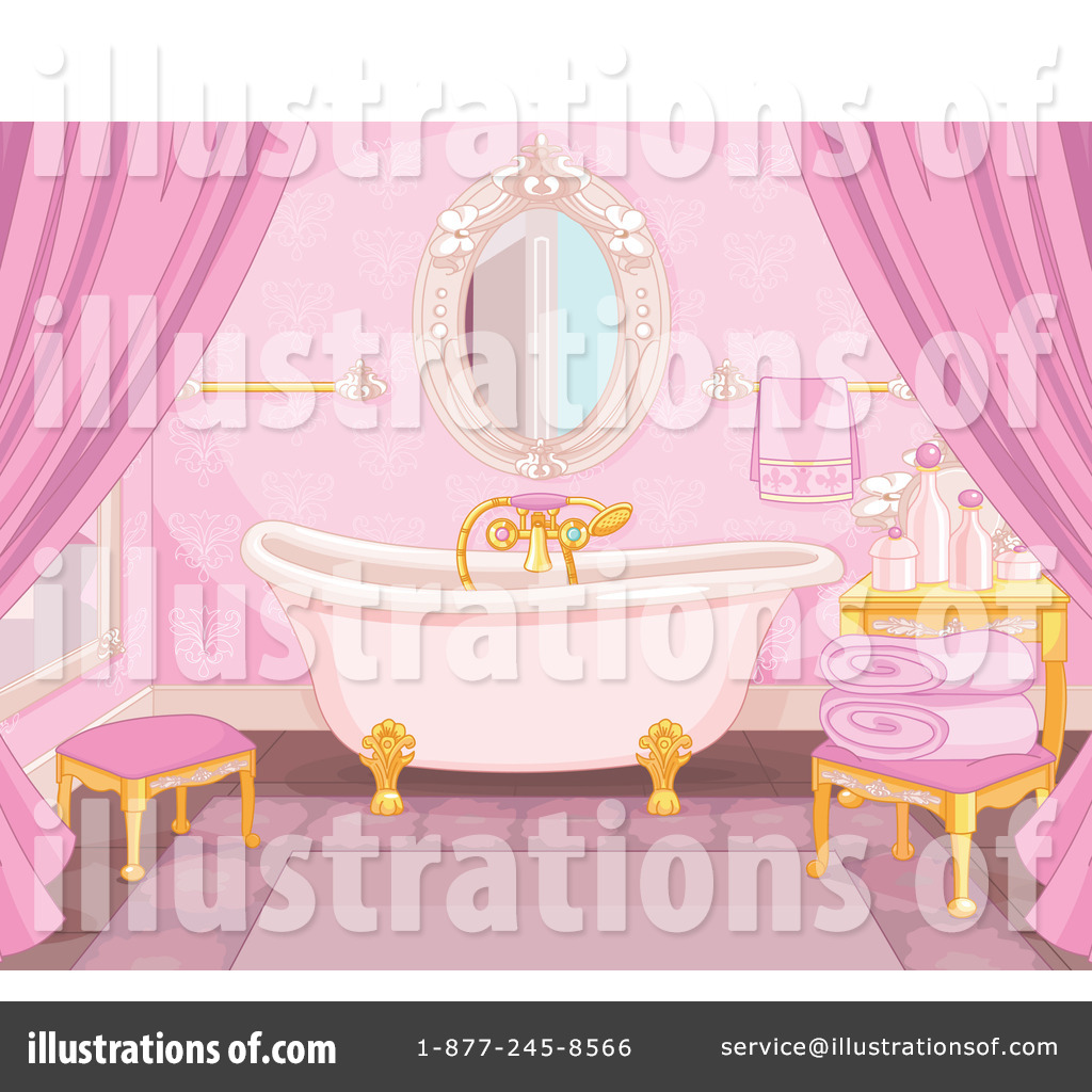 Bathroom clipart 1229300 by pushkin royalty free rf for R f bathrooms and kitchens