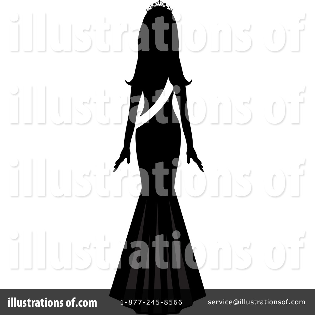 Royalty-Free (RF) Beauty Pageant Clipart Illustration by Pams Clipart