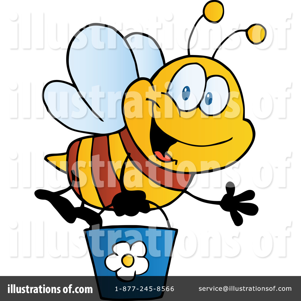 royalty free bee clipart - photo #35