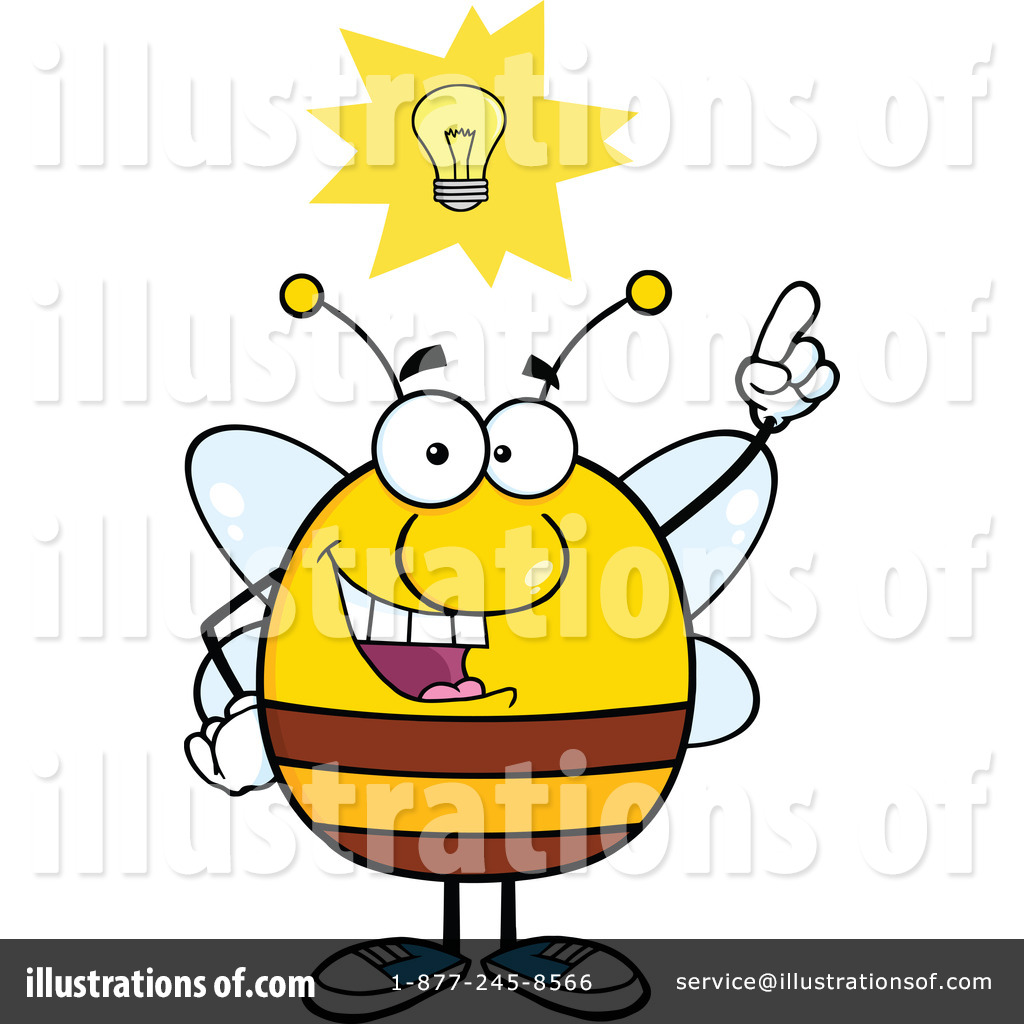 royalty free bee clipart - photo #12