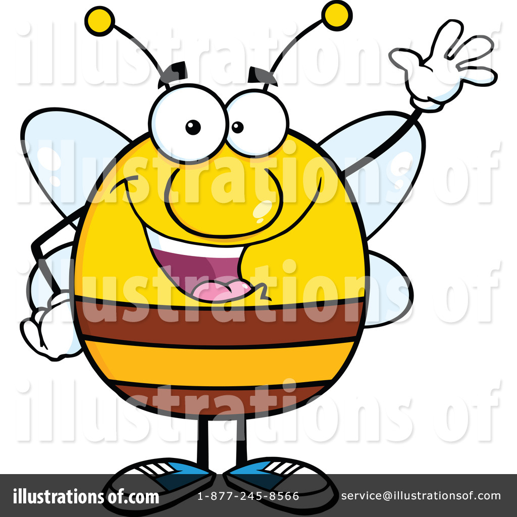 royalty free bee clipart - photo #21
