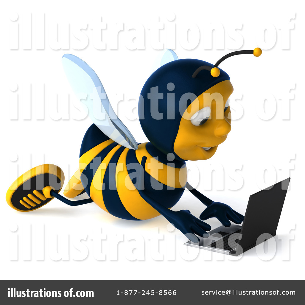 royalty free bee clipart - photo #33