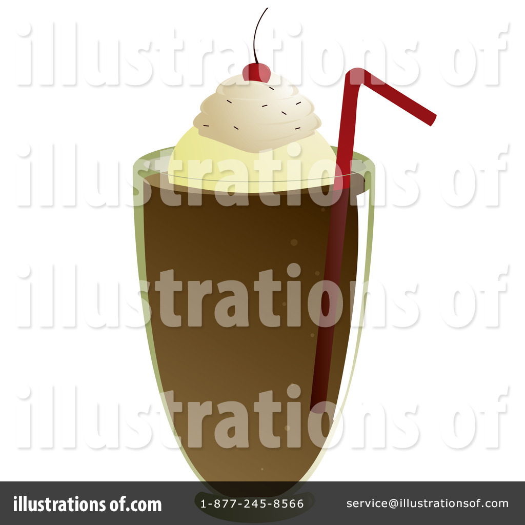 Soda Float Clip Art Clipart illustration by