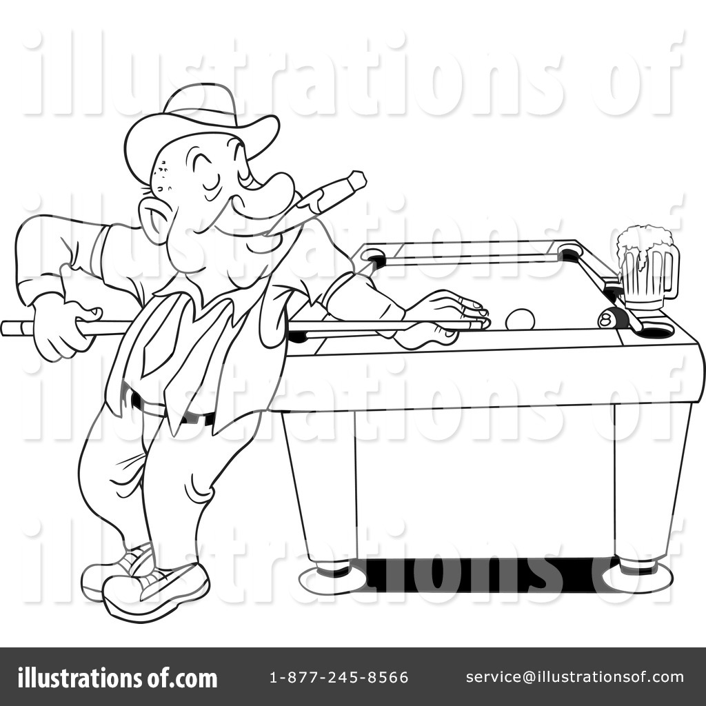 pool table coloring pages - photo#16