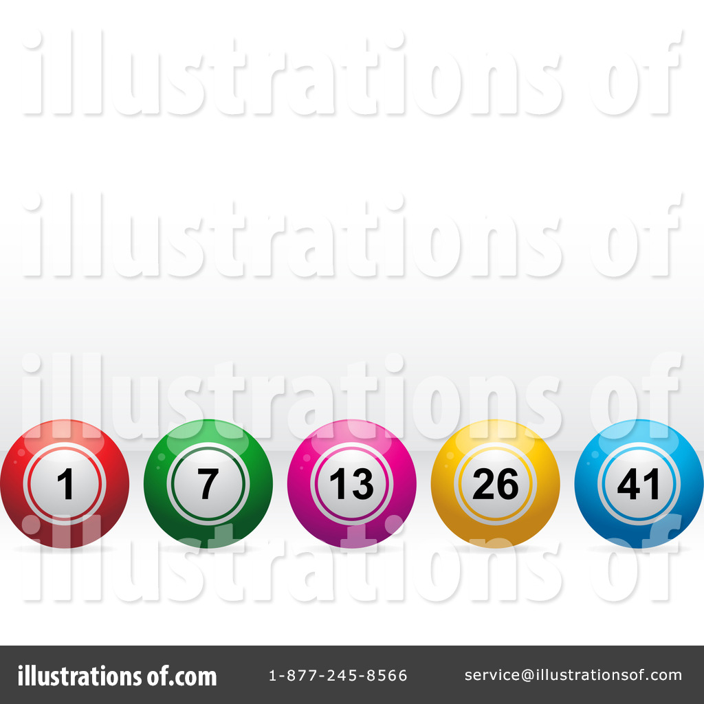 Bingo Balls Clipart #35676 - Illustration by elaineitalia